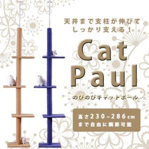 のびのびキャットポール キャットタワー 猫用品 ペット用品 ET-LWS-0019|aspace