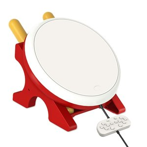 この太鼓コントローラーはNintendo switchバージョンに対応の太鼓の達人に専用です。 ジョ...