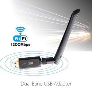 商品仕様 商品サイズ:画像をご参照下さい 重量:31g 伝送速度:1200Mbps  インターフェー...