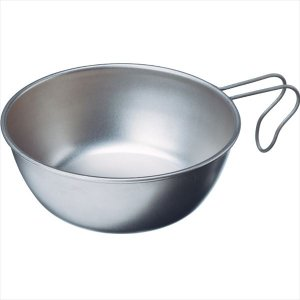 [EVERNEW]エバニュー アウトドア食器 チタン シェラカップ680ml (EBY140)[取寄...
