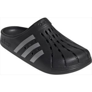 [adidas]アディダス メンズサンダル ADILETTE CLOG U (FY8969)コアブラ...