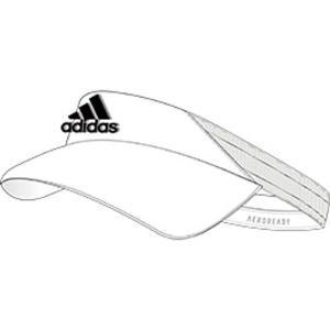 [adidas]アディダスバッグ AEROREADY バイザー (GNR99)(FK0859) ホワ...
