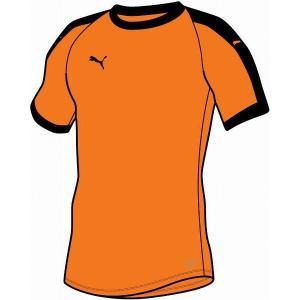 [PUMA]プーマ LIGA ゲームシャツ (703637)(08) ゴールデンポピー/ブラック[取...