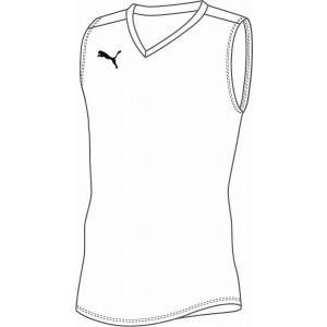 【2枚までメール便可】PUMA[プーマ] ESS Pro JR SL Inner Shirt (655278)(02)ホワイト[取寄商品]|aspo