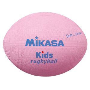 [Mikasa]ミカサスマイルラグビー ラージサイズ キッズ用(KFP)(00)ピンク[取寄商品]