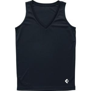 【1枚までメール便可】 [CONVERSE]コンバース ウィメンズゲームインナーシャツ (CB351703)(1900) ブラック[取寄商品]|aspo