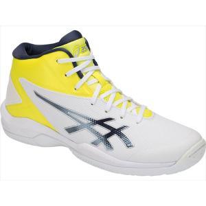 [asics]アシックス ジュニアバスケットボールシューズ ゲルプライムショットSP 4 (TBF140)(108) ホワイト/タールマック[取寄商品]|aspo