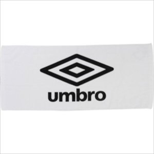 [umbro]アンブロ スポーツタオル (UJS3602)(WBK) ホワイト×ブラック×ブラック[...