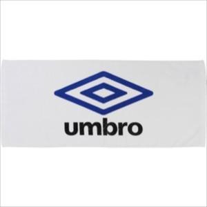 [umbro]アンブロ スポーツタオル (UJS3602)(WBU) ホワイト×ブルー×ブラック[取...