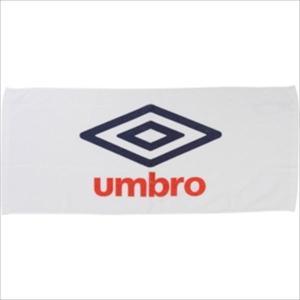 [umbro]アンブロ スポーツタオル (UJS3602)(WNV) ホワイト×ネイビー×レッド[取...