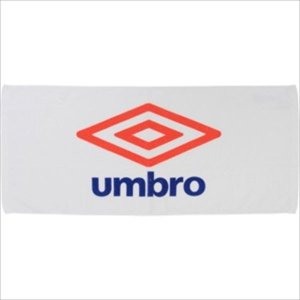 [umbro]アンブロ スポーツタオル (UJS3602)(WRD) ホワイト×レッド×ブルー[取寄...