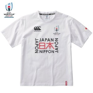 [canterbury]カンタベリー RWC2019 JAPAN TEE (VWD39427)(10) ホワイト aspo