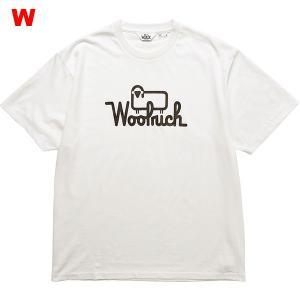 ウールリッチ−WOOLRICH C/Nラウンドボディプリントティー男性用|asses