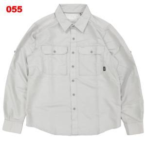 マウンテンハードウェア-MOUNTAIN HARD WEAR キャニオンソリッドロングスリーブシャツ男性用|asses