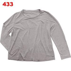 カオ-KAO スタンダードロングスリーブTシャツ女性用|asses