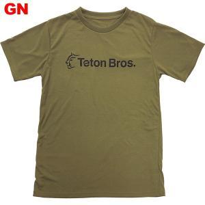 ティートンブロス-Teton Bros. スタンダードロゴT男性用|asses