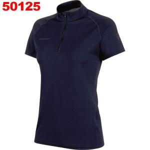 マムート-MAMMUT パフォーマンスドライジップTシャツ女性用|asses