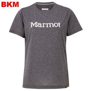 マーモット-Marmot フラワーロゴハーフスリーブクルー女性用 asses