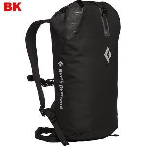 Black Diamond ブラックダイヤモンド ロックブリッツ15/ブラック/1サイズ BD54089001 ロープバッグ ブラックの商品画像|ナビ