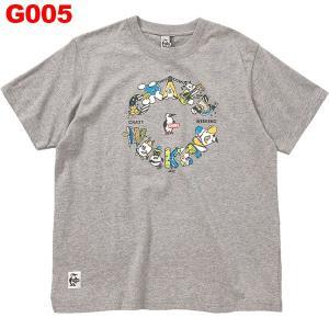 チャムス-CHUMS クレイジーウィーケンドTシャツ男性用|asses
