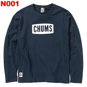 チャムス-CHUMS チャムスロゴロングスリーブTシャツ女性用|asses