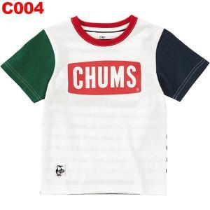 チャムス-CHUMS チャムスロゴTシャツキッズ|asses