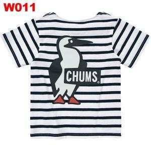チャムス-CHUMS ブービーロゴTシャツキッズ|asses