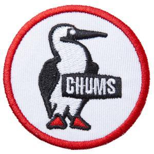 チャムス-CHUMS ワッペンブービーロゴS asses