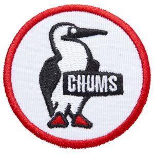 チャムス-CHUMS ワッペン ブービーロゴM asses