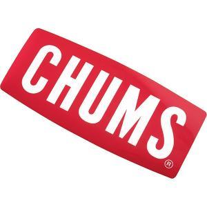 チャムス-CHUMS ステッカーチャムスロゴミディアム|asses