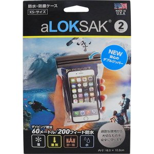 ロックサック-LOKSAK 防水マルチケースXS|asses