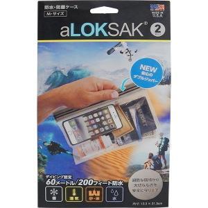 ロックサック-LOKSAK 防水マルチケースM|asses