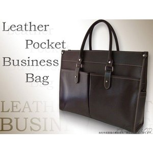 Black Riri ビジネスバッグ 牛革 レザー ポケットビジネスバッグ 革 鞄 カバン メンズ|asshop