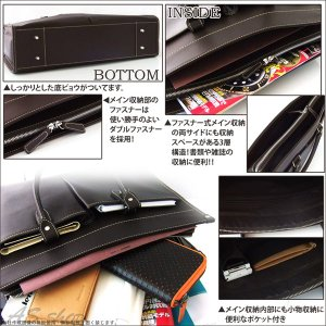 Black Riri ビジネスバッグ 牛革 レザー ポケットビジネスバッグ 革 鞄 カバン メンズ|asshop|03