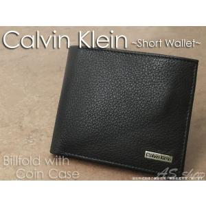 Calvin Klein カーフレザー 短財布  カルバンクライン CK 79215 メンズ サイフ|asshop
