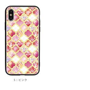 スマホケース iPhone Galaxy ケース モロッカン 柄|asshop|09