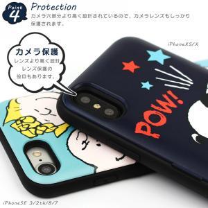 スヌーピー iphoneケース ミラー付き 背面 カード収納付き ピーナッツ キャラクター スマホケース 耐衝撃 薄型 iPhone11Pro iPhoneXS iPhone8 7 韓国 asshop 06