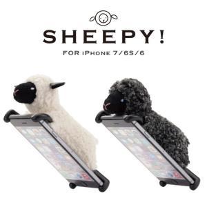 iphone7ケース ぬいぐるみ スマホケース SHEEPY iPhone7 iPhone6S/6 対応 カバー ZOOPY ズーピー シーピー 羊|asshop
