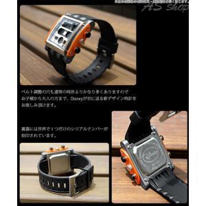 Disney 腕時計 ミッキー スクエアタイプ デジタルウォッチ ホワイトラバーベルト ディズニー キャラクター デジタル腕時計 キッズ|asshop|04