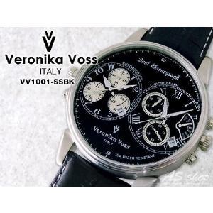 【Veronika Voss】ヴェロニカボス デュアルクロノグラフ腕時計 53mmビックフェイスタイプ asshop