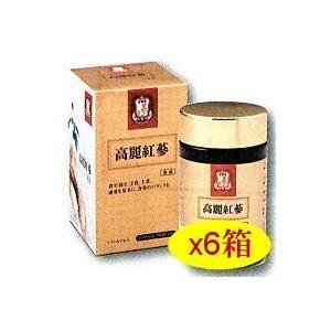 高麗人参(紅参)正官庄180粒x6箱セット+試飲サンプル60袋 エスエスアイ(ssi)|assi