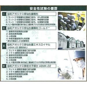 協和アガリクス 仙生露エクストラゴールドエキス濃縮タイプABMK-22・360mgx3箱+おまけ3袋 ssi|assi|02