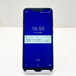 ASUS ZenFone Max X01AD SIMフリー スペースブルー 64GB 4GB 本体の...