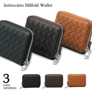 財布 二つ折り財布 小銭入れ メンズ 札入れ カード入れ ウォレット プレゼント ラウンドファスナー|assistant