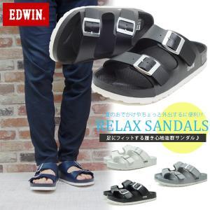 サンダル メンズ エドウィン コンフォート ビーチサンダル 履きやすい アリゾナタイプ|assistant