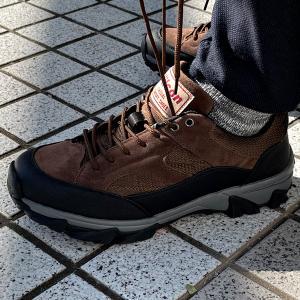 アウトドア シューズ スニーカー メンズ 登山靴 トレッキング 靴 防水 3E カジュアル assistant