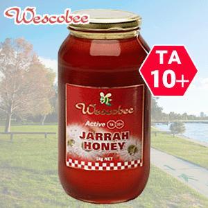 ウエスコビー アクティブ ジャラハニー1kg TA10+ 西オーストラリア州政府公認 無農薬・無添加・天然はちみつ assot