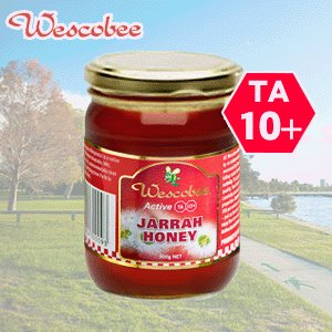 ウエスコビー アクティブ・ジャラハニー300g TA10+ 無農薬・無添加・天然はちみつ assot