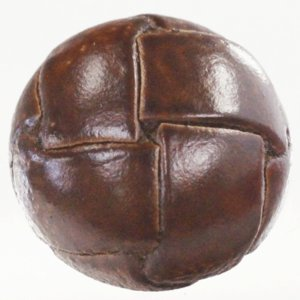 本革ボタン (茶) 20mm 1個入 天然素材 (レザーボタン) AXP5639-3 (スーツ・ジャケット向) ボタン 手芸 通販|assure-2