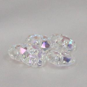 プラスチックボタン (ダイヤモンドカット・白系) 10mm 1個入 AZP6479-2 (シャツ・ブラウス・アクセント飾り向) ボタン 手芸 通販|assure-2